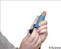 Metered dose inhaler use - Series